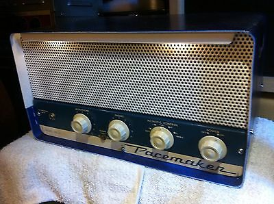 Bell Pacemaker PM20 1950s 6v6 15w Vintage Tube Amplifier Head Serviced & Ready