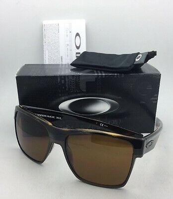d36a874422 New OAKLEY Sunglasses TWOFACE XL OO9350-06 Brown Tortoise Frame w  Bronze  Lenses