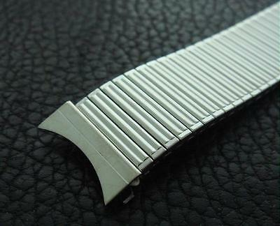 Rare N.O.S. Retro Vintage 18mm '50s/'60s MINIMALIST Stainless Steel Watch Band