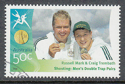 Australia 2006 Commonwealth Games Shooting Trap pairs  Canceled to order stamp.