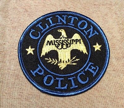 MS Clinton Mississippi Police Patch