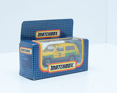 Matchbox MB-27 Jeep Cherokee, 1987,  in Excellent Condition, 2220