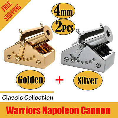 World smallest Mini Cannon Toy - Made by Full Stainless Steel- A pair of cannons