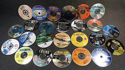 28 MS-DOS PC Game Lot, Madden 2000, NHL 96 & 98, Nochturne, Air Combat, Sea  Wolf