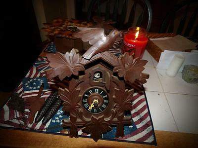 Vintage German Made Coo Coo Clock Sold For Repair & Parts Lot 2