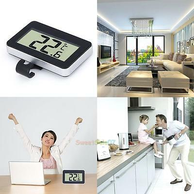 Digital LCD Thermometer Temperature Meter W/Magnet Hook For Refrigerator Freezer