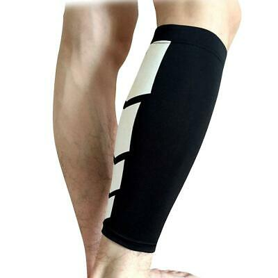 Manchon Compression Support Maintien du Tibia Elastique Protection Sport Unisexe