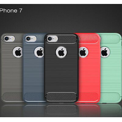 Shockproof Silicone Protective Case Cover For Apple iPhone 7 7 Plus 5S 6 Plus