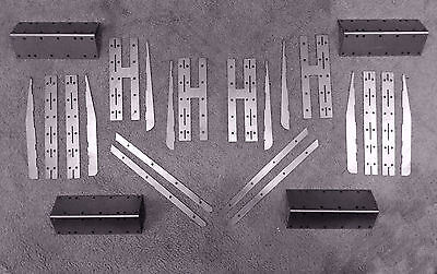 """7 1/4"""" gauge 5 Plank Wagon Strapping kit, for live steam etc"""