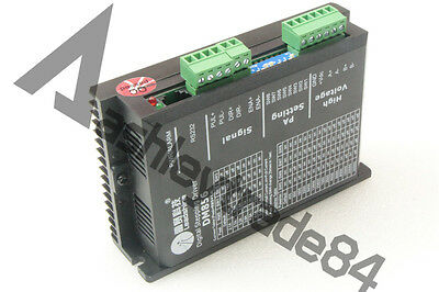 New DM856 Leadshine 20-80VDC 0.5A to 5.6A 2/4-phase Stepper Motor Driver