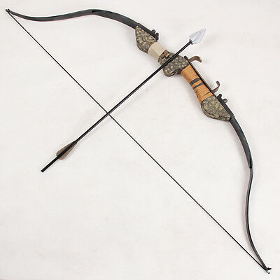 Exclusive Made Green Arrow Oliver Queen's Bow and Arrow PVC Weapon Cosplay Prop