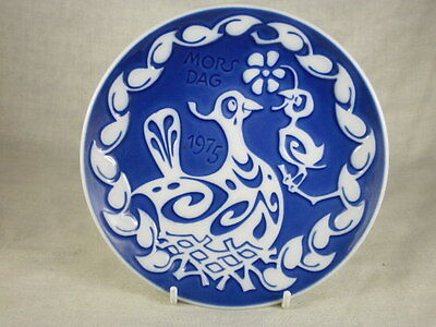 Royal Copenhagen Mothers Day Plate 1975