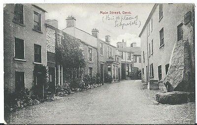 Dent Nr Sedbergh Main Street PPC by Thompson Bros of Kendal Avenue Message