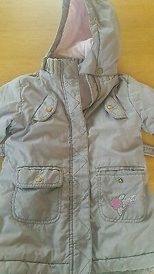 Next Hooded  Coat Age 2-3 Years Great condition