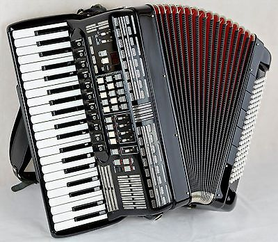 SEM - 4 Voice Musette - 120 Bass - Quality Italian MIDI Accordion