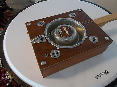 cigarbox resonator winebox slide guitar lapsteel electro-acoustic trad. style