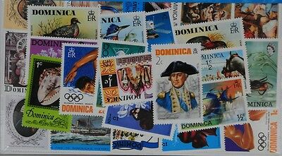 25 Dominica (L85) Stamps