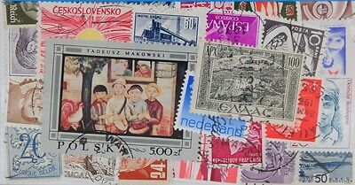 500 Europe (L120) Stamps