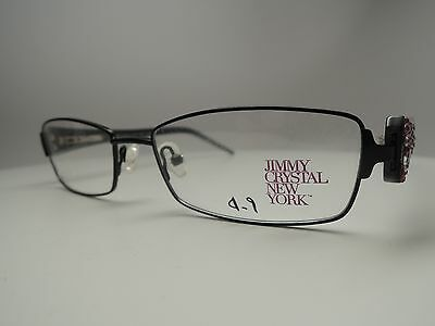 009e2f6ba0aa Jimmy Crystal New York Garbo Eyeglasses Women s. Made with Swarovski  Elements