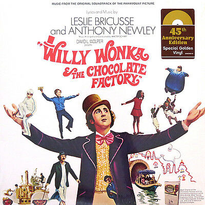 Willy Wonka & The Chocolate Factory - Soundtrack - Gold Vinyl LP *NEW & SEALED*