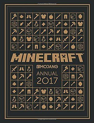 The Official Minecraft Annual 2017 - Book by Mojang AB (Hardcover, 2016)