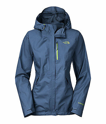 The North Face Women's DRYZZLE Gore-Tex Paclite Shell Hiking Jacket Shady Blue M