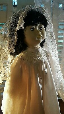 """Ling Ling by Pauline Doll Asia 18"""" with Stand and Scarf"""