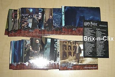 Harry Potter and the Goblet of Fire Update 90 Card Trading Base Set 2005 USA!