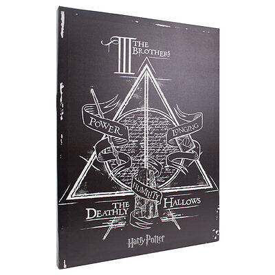 Harry Potter Deathly Hallows 13x18 Canvas Banner
