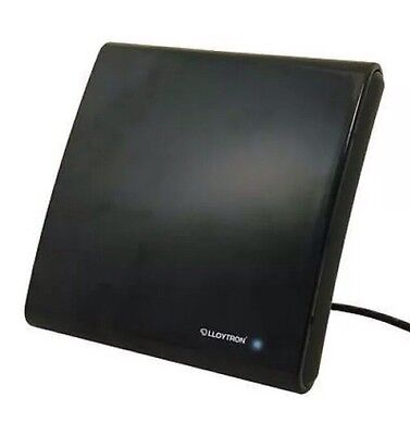 Lloytron A3105 Amplified Indoor Aerial TV Antenna 50dB Gain UHF VHF Freeview New