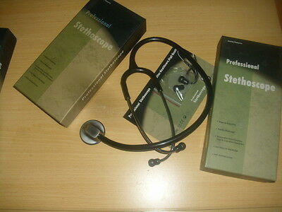 Cardiology Professional Stethoscope, Boxed,ce Approved And  Uk Seller