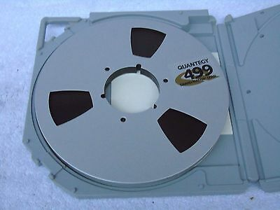 1 x Brand New Quantegy 499 Grand Master 10.5in 1/2in Reel To Reel Recording Tape
