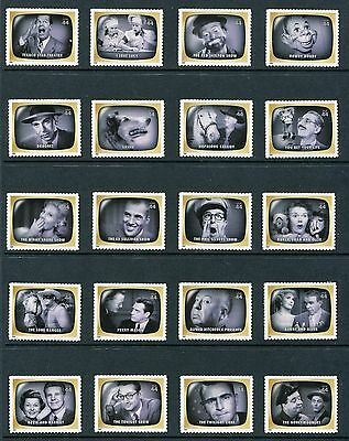 US 2009 Early TV Memories Single Stamps, Scott 4414a-t 4414t, NH USA