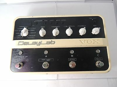 Vox Delay Lab Delay Effects Pedal  Delaylab Looper Programmable Free U.s. Ship