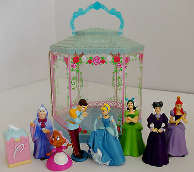 Cinderella Mixed Toy Figures with Carry Case