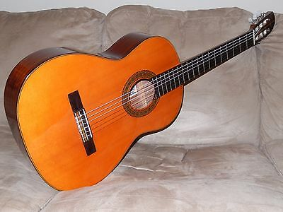 "Hand Made In Japan Rare Vintage Takamine ""countryside"" 100 Classical Guitar"