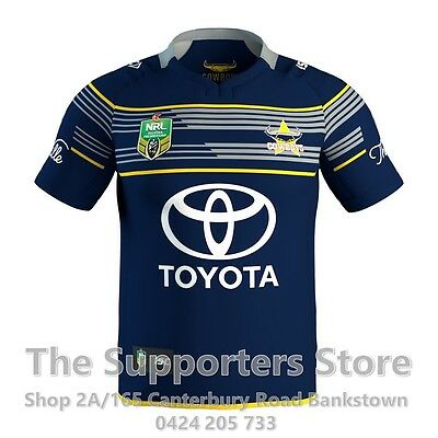 NQ Cowboys NRL 2017 Home ISC Jersey Adults, Ladies, Kids & Toddlers Sizes