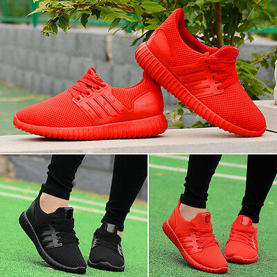 Casual Women Shoes Lady Pumps Trainers Lace Up Mesh Sports Runnin Gym Size