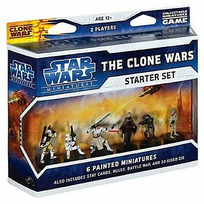 SWM: Star Wars Miniatures - Clone Wars Starter Pack (1)