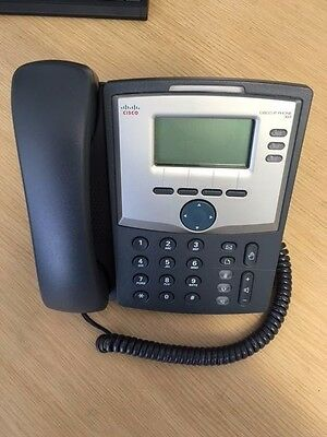 Cisco SPA 303 IP Phone With Stand Handset and PSU