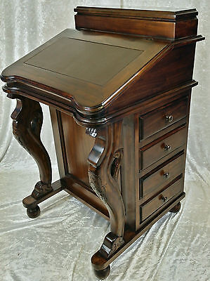 Beautiful New Solid Mahogany Davenport Writng Bureau...free Delivery