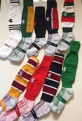 Under Armour Rugby/Football Socks Moisture Wicking - New