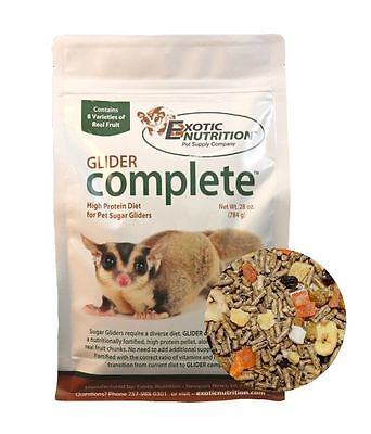 Exotic Nutrition - Glider Complete 28oz for sugar gliders