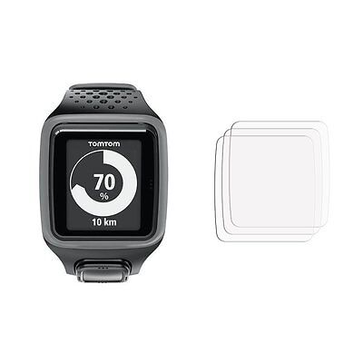 2 x Membrane Screen Protectors for TomTom Spark - Cover Guard