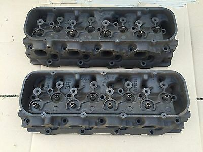 1966 66 Corvette 396/427 Chevelle SS Chevy Impala 3872702 Cylinder Heads CLEAN