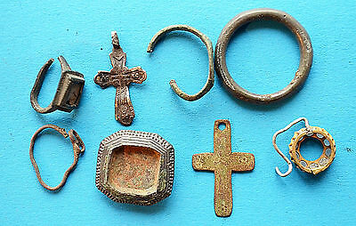 Medievil Viking Period parts of jewelery & pendants