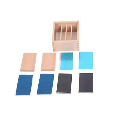 Montessori Material Temperature Tactile Sense Thermic Tablets Boys Girls Toy