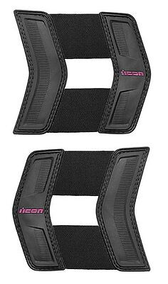 Icon Womens Replacement Waist Straps for Stryker Protection Vest 2014 Black Pink