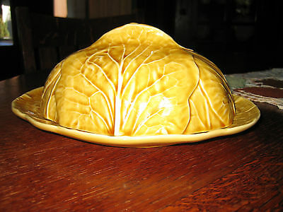 Bordallo Pinheiro, harvest gold cabbage,  covered dish. New.