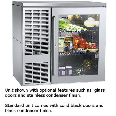 """Perlick BBS36 36"""" One-Section Refrigerated Back Bar Cabinet"""